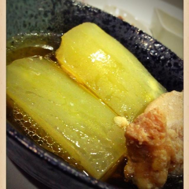圧力鍋で5分でとろっと♪(´ε` ) - 90件のもぐもぐ - 冬瓜と手羽トロの煮物❤ by eim153