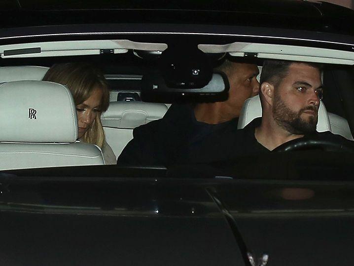 Jennifer Lopez and Alex Rodriguez Late Night Date Night