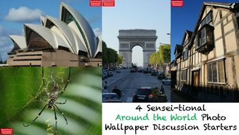 4 Sensei-tional Around the World Photo Wallpaper Discussion StartersHow to hook your students walking into Social Studies, History, Geography or Elementary classes? Bring the world to your classroom by using engaging photographic wallpapers displayed from your computer or laptop via the classroom data projector.