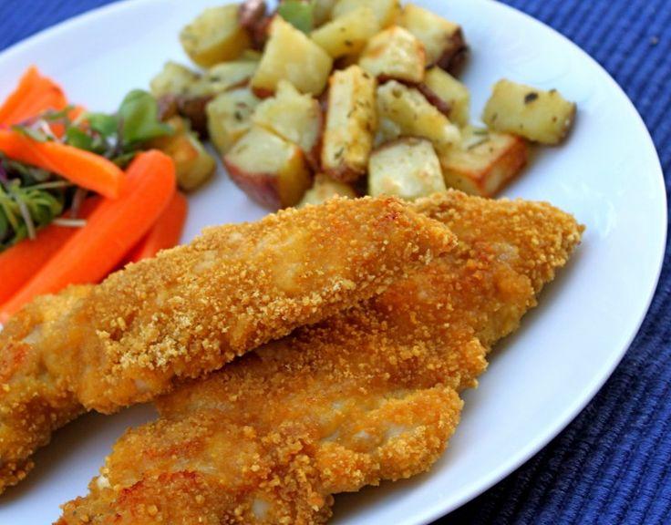 Crispy chicken tenders, Chicken tenders and Crispy chicken on ...