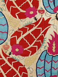 Love these:  Ottoman Tulip Embroidery @Sadberk Hanim Musesi, Hali Publications