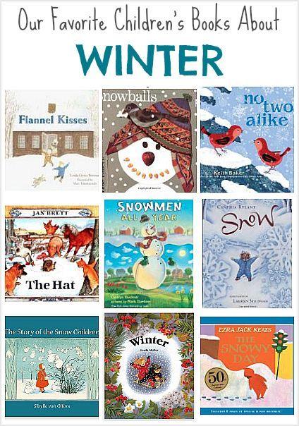Popular children's picture books for winter: including books by Jan Brett, Lois Ehlert, and Cynthia Rylant!