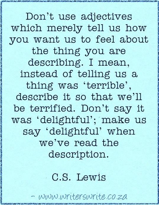 Quotable - C.S. Lewis - Writers Write Creative Blog