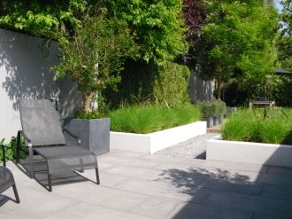 moderne tuin II - Hovenier Badhoevedorp | Tuinontwerp