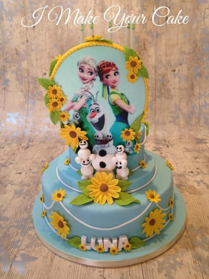 Frozen x Luna - Cake by Sonia Parente
