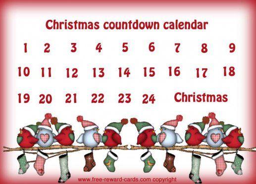 Christmas countdown calendar 5