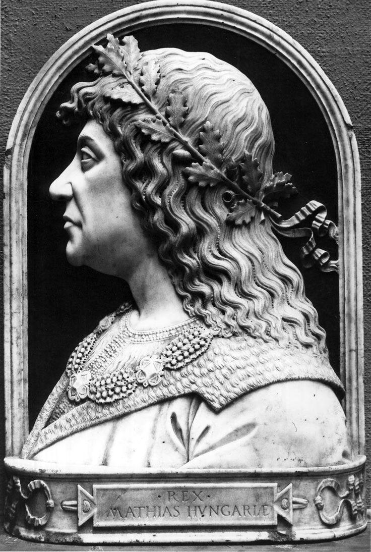 Portrait of Matthias Corvinus, King of Hungary. Szépművészeti Múzeum - Gyujtemenyi kereső angol - Artwork