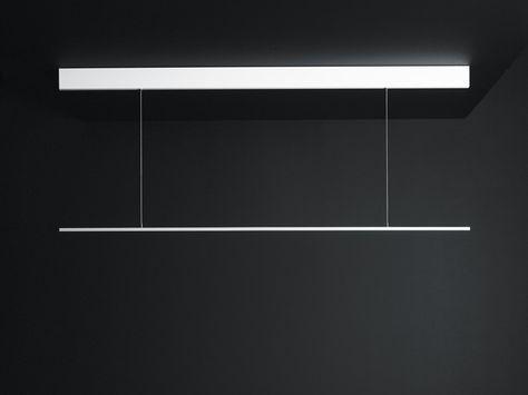 LED direct light aluminium pendant lamp GIÒ by Boffi