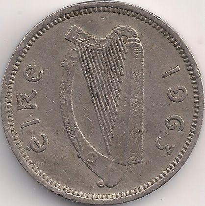 Motivseite: Münze-Europa-Westeuropa-Irland-Pingin-3-1942-1968