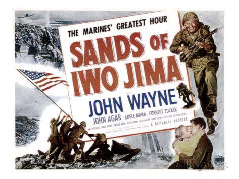 Sands Of Iwo Jima, John Wayne, 1949 Prints at AllPosters.com