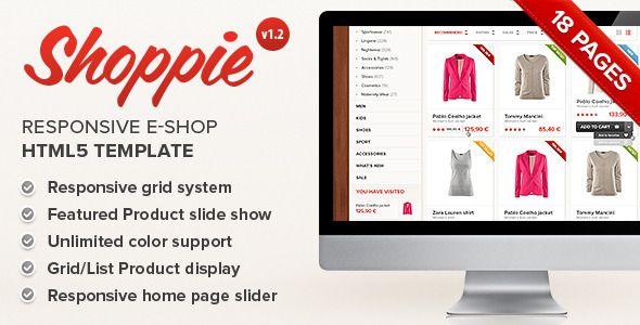 #Fashion #ecommerce #website #templates #websitetemplates #html5