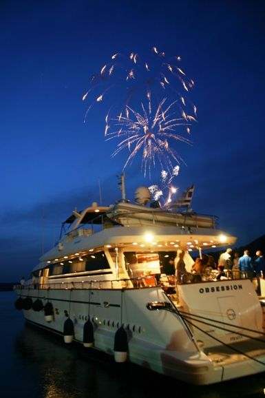 Discover Greece aboard a luxury yacht charter of your dreams - Party time