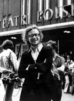 Photograph:Jerzy Grotowski in 1966.