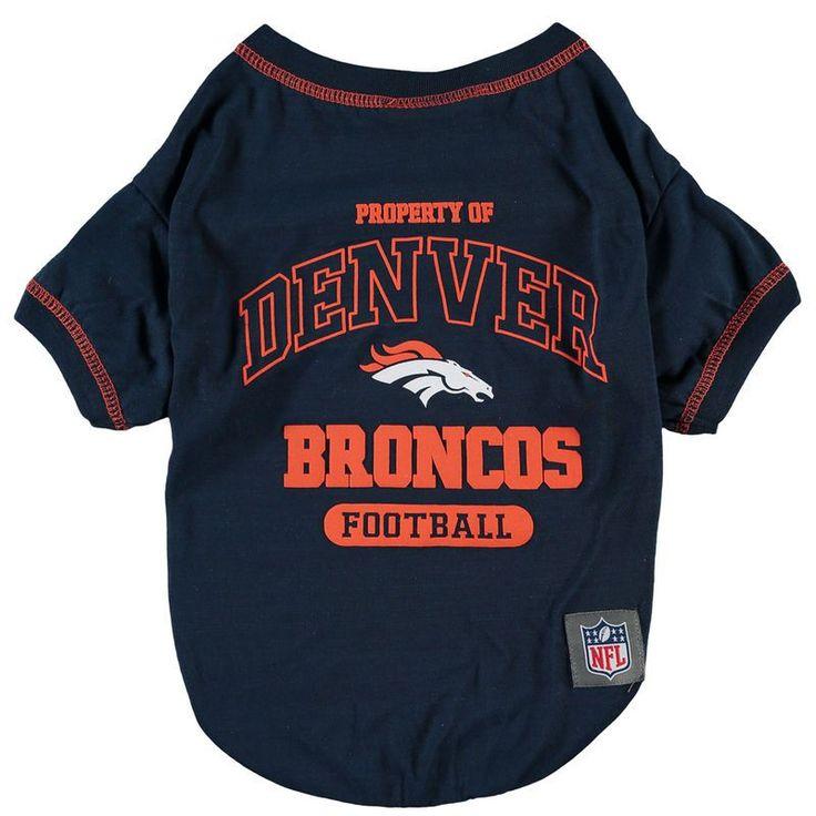 Denver Broncos Pet T-Shirt