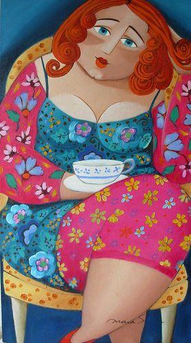 """Mara Sicca """"cat lady"""" artist"""