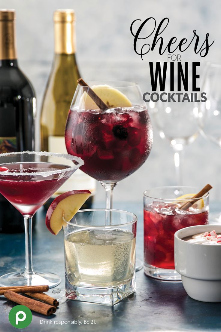 Discover a new way to enjoy your favorite wine, with fuss-free recipes for wine cocktails. Join the Publix Wine Program to find our 5 favorite wine recipes, and more.