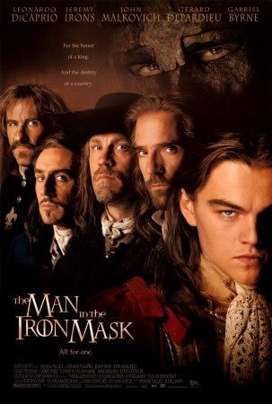 The Man in the Iron Mask,El hombre de la máscara de hierro (1998)