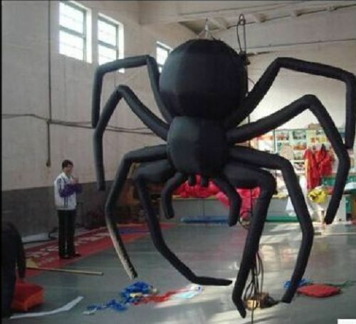 Giant Party Decoration Halloween Inflatable Hanging Spider For Sale 5m T Unbranded Halloween Blowups In 2019 Halloween Inflatables Halloween Party Decor