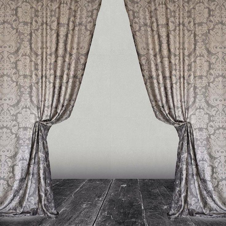 Castellodelbarro#naturalfibers#beautifulpatterns#curtainsdesign#