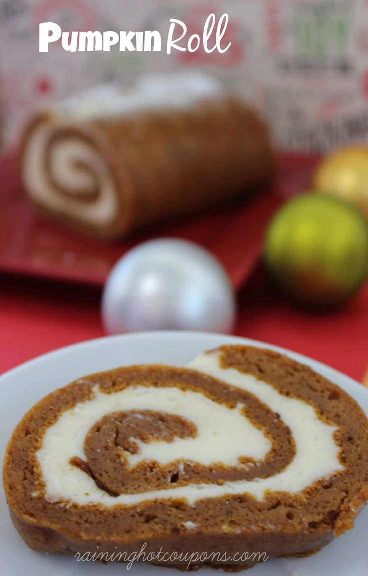 *Get more RECIPES from Raining Hot Coupons here* *Pin it* by clicking the PIN button on the image above! REPIN it here! Here's a yummy recipe for a creamy Pumpkin Roll! This makes the best dessert and looks gorgeous too! This dessert looks like it would be hard to make but in reality it's actually …
