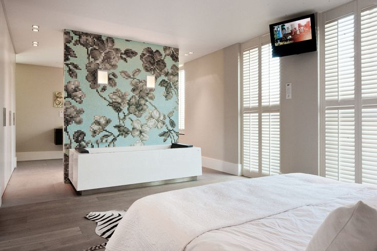 Beautiful bedroom with JASNO shutters