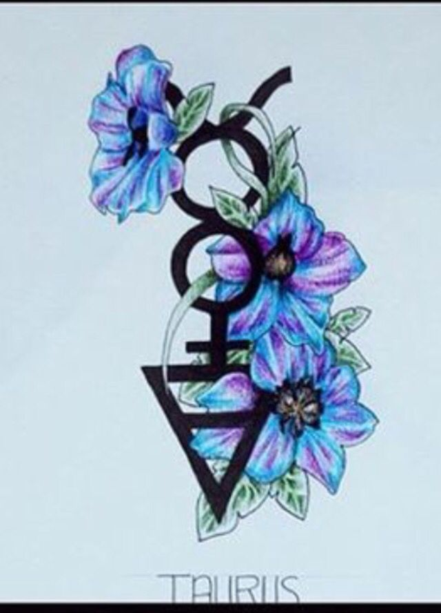 Taurus tattoo- that I want on my forearm with a backwards crescent moon