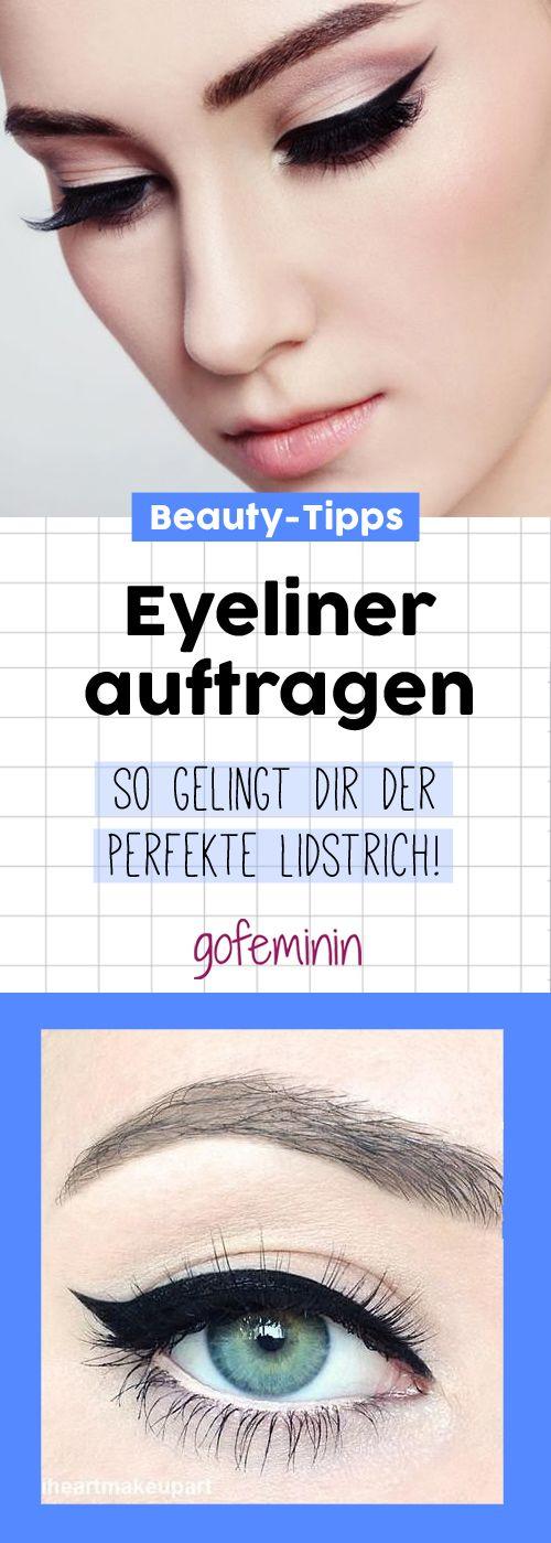 Eyeliner auftragen: So gelingt dir der perfekte Lidstrich!