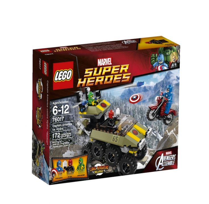 LEGO Superheroes 76017 Captain America vs. Hydra @Amazon #kids #LEGO #Superheroes # CaptainAmerica #Hydra