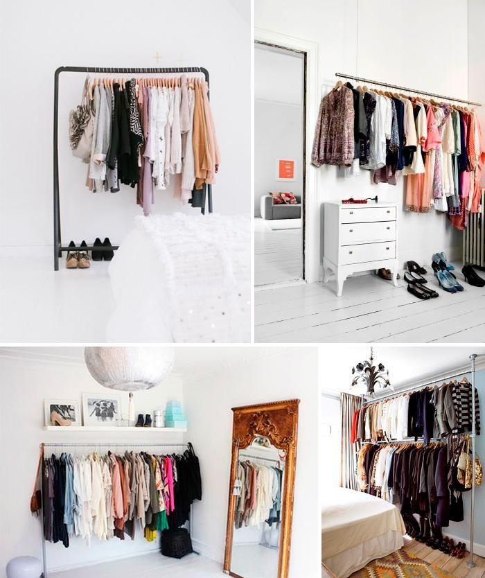 armarios abiertos para espacios pequeos