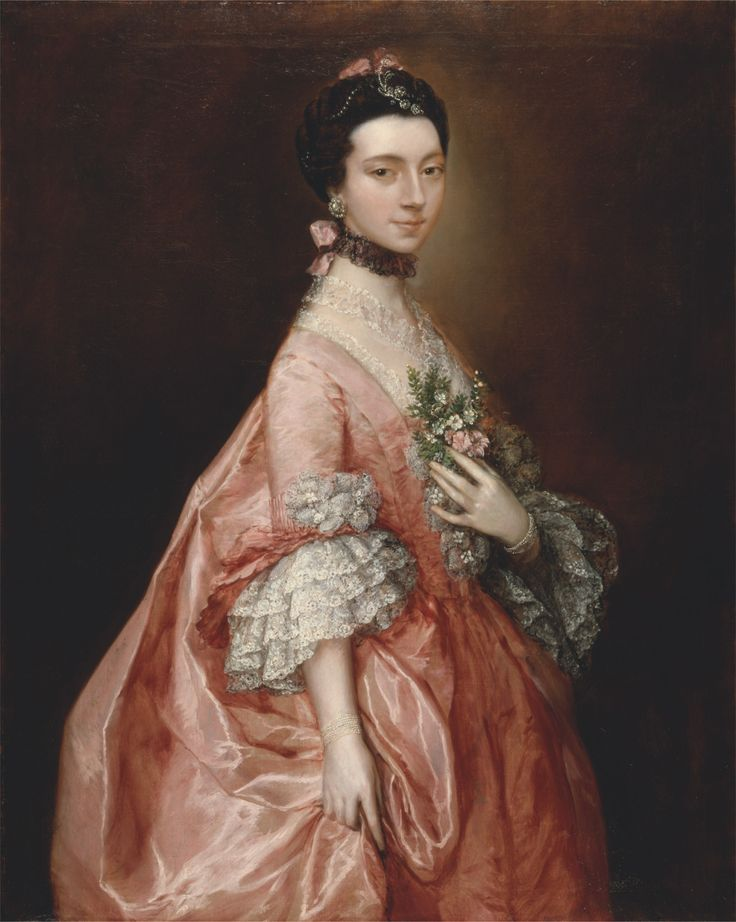 ab. 1767 Thomas Gainsborough - Mary Little, later Lady Carr