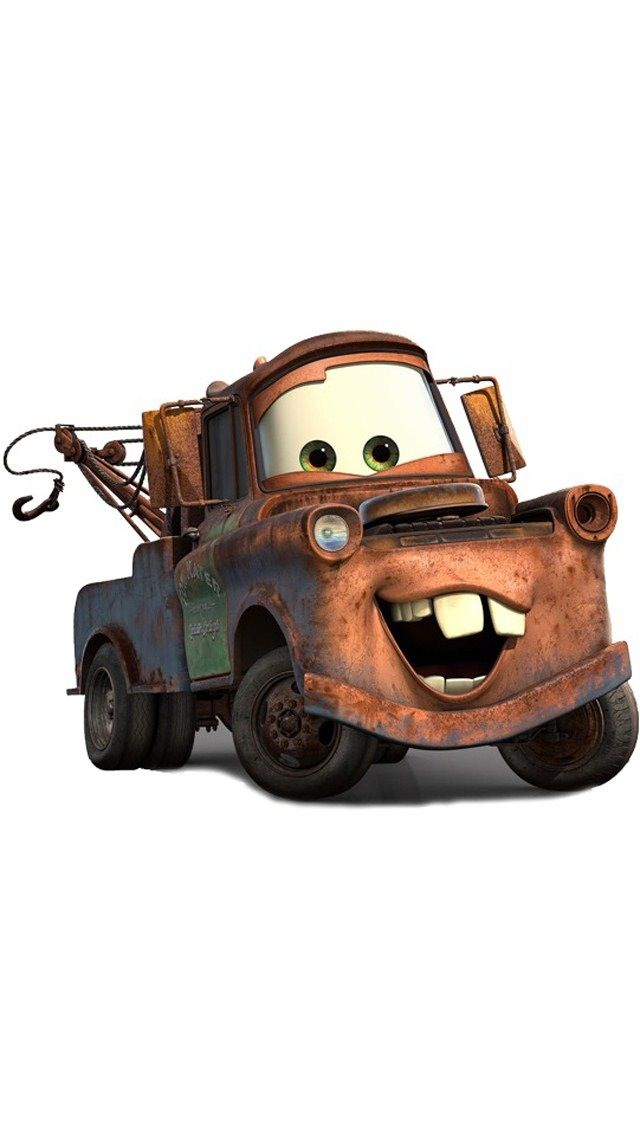 "Mater from the Disney/Pixar film ""Cars"""