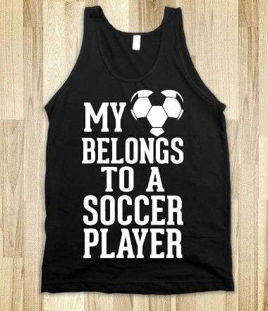 ...she wd love this tshirt, she may marry Christiano Rinaldo....spelling? haha! There's a few girls in our family who may need this shirt! :)