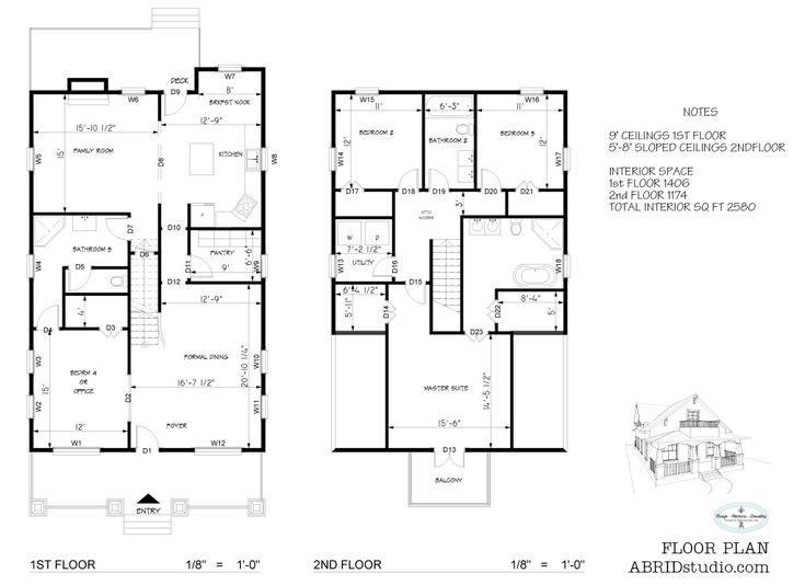14 best house plans images on pinterest floor plans for Open concept craftsman house plans