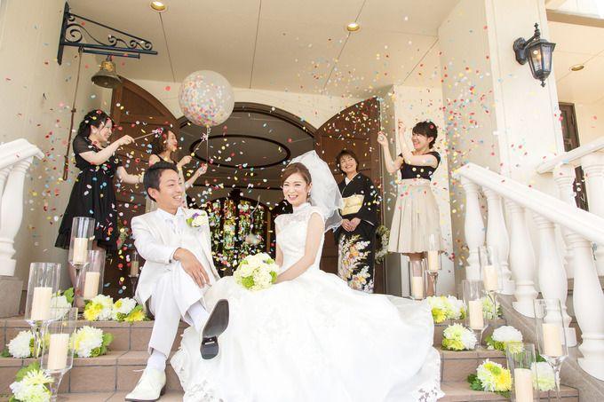 【福岡県久留米市 ホテルニュープラザKURUME・ウェディング】みんなを驚かせよう!おしゃれなバルーンスパーク