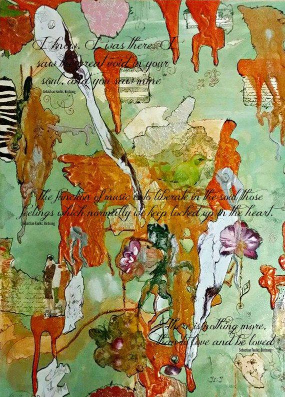 Искусство, Абстрактное искусство, печать, современное искусство, искусство цитата, пение птиц, птицы арт, абстрактное искусство печати, абстрактные стена печати, декор стен,