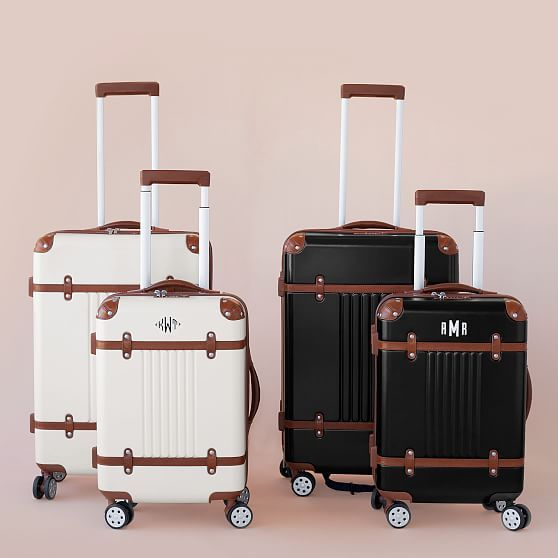 Mark and Graham White Terminal 1 Carry-On and Terminal 1 Checked Spinner