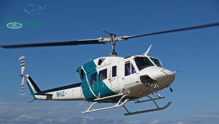 Bell 212 (Twin Huey) Coffs Harbour, NSW Australia www.precisionhelicopters.com.au