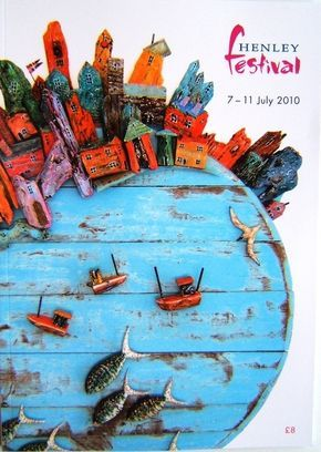 Tony Britnell - Henley Festival programme cover