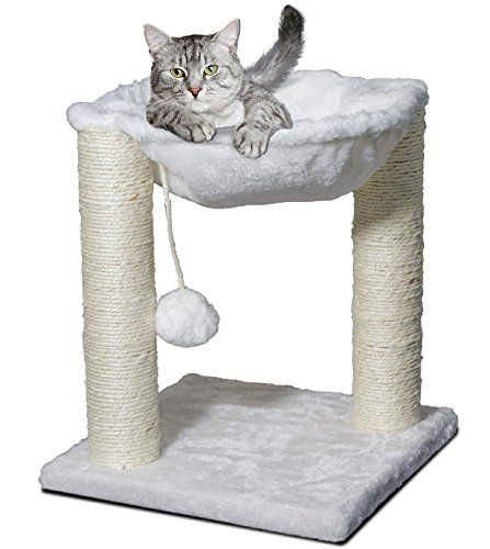 cat tree hammock scratch post house   bed furniture for play with toy 2797 best cat tree ideas images on pinterest   cat trees kittens      rh   pinterest