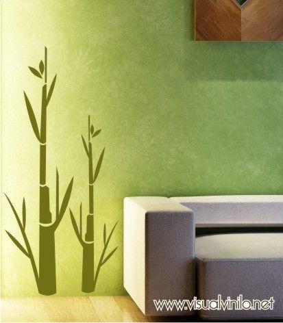Vinilo Decorativo Bambú.  http://www.visualvinilo.net/vinilos-decorativos/vinilos-decorativos-etnico/