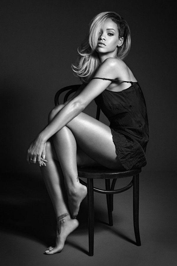 Rihanna Rogue fragrance ad campaign, shot by Mario Sorrenti #beauty #rihanna