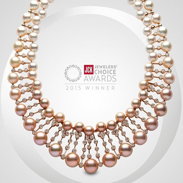 @yoko_london has been awarded a #JCKJewelersChoiceAward. The magnificent winning…
