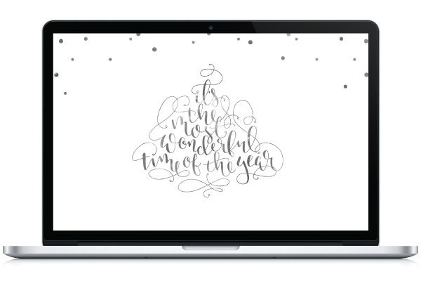 Christmas Desktop Wallpaper - By Saffron Avenue : Saffron Avenue