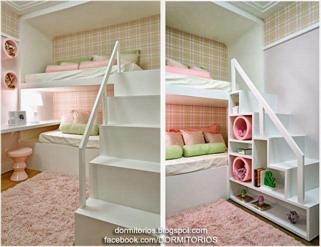665 best images about dormitorio ni os bedroom kids on - Decoracion de dormitorios infantiles ...