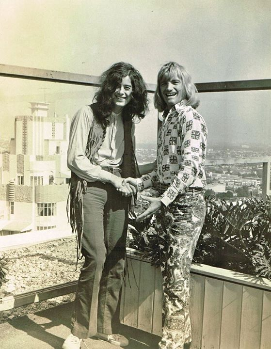 Jimmy Page and Screaming Lord Sutch