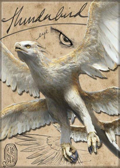 $3.99 – Fantastic Beasts Movie Thunderbird Name An…