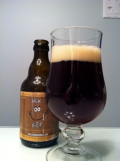 Alternatief Hik Bier Bruin - Brouwerij Het Alternatief