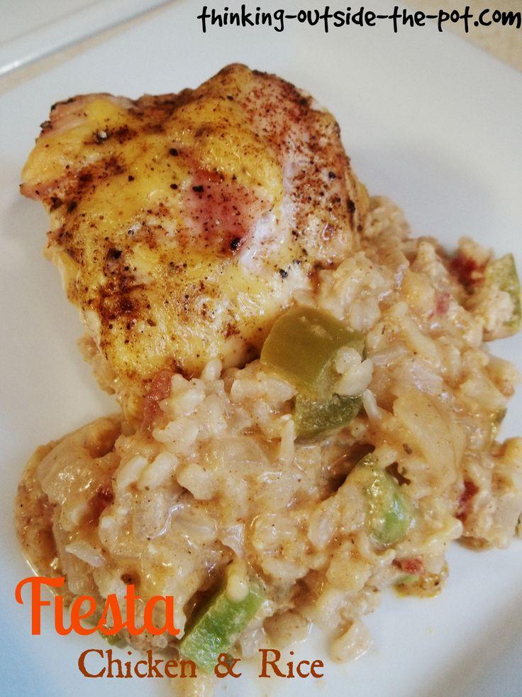 Fiesta Chicken  Rice Casserole