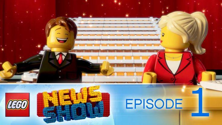 LEGO® News Show - Episode 1 - LEGO CITY Demolition & Deep Sea