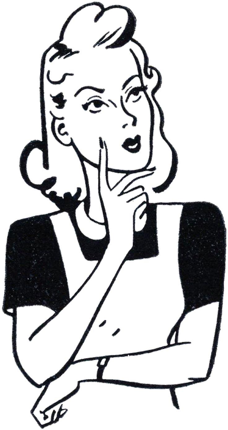 Retro Thinker Mom Image